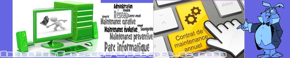 Maintenance préventive, curative, et évolutive de votre matériel informatique