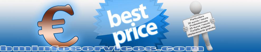 Les meilleurs tarifs adaptés aux entreprises et aux particuliers